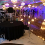 crystal ballroom floor